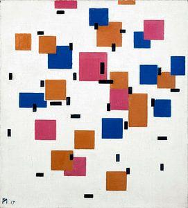 Komposition in Farbe A, Piet Mondriaan