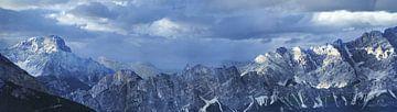 Panorama Dolomieten van Maarten Visser
