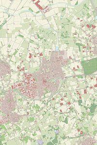 Kaart vanEtten-Leur