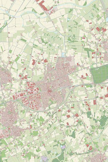 Kaart vanEtten-Leur van Rebel Ontwerp