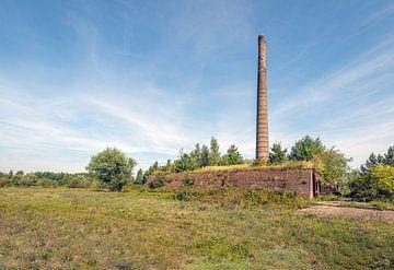 Oude steenfabriek bij het Nederlandse dorp Vuren van Ruud Morijn
