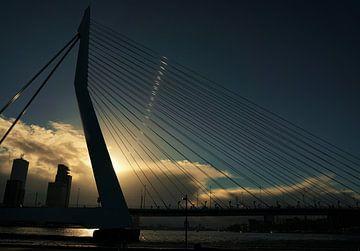 Erasmusbrug Rotterdam von Erik Slagboom