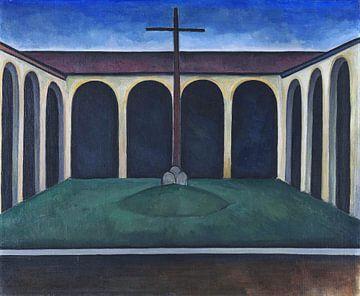 Kreuzgang I, ALEXANDER KANOLDT, 1913 von Atelier Liesjes