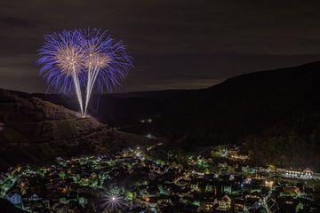 Feuerwerk von Heinz Grates