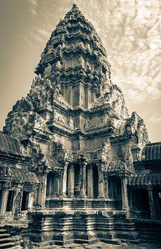 Toren van de Angkor Wat tempel, Cambodja van