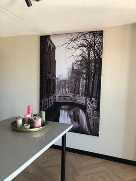 Klantfoto: Oude Kerk Delft, Nederland van Marja van den Hurk