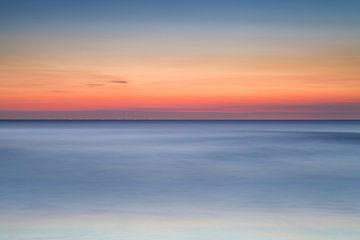 Zeeland Zonsondergang van Frank Peters