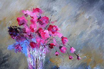 Rosa Blumen von pol ledent