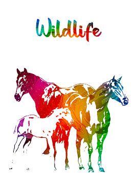 Paarden van Printed Artings