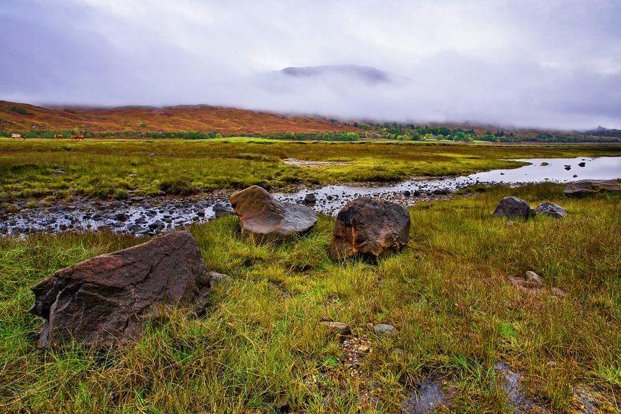 Kinlocheil, Fort William, Schotland van Peter Bolman
