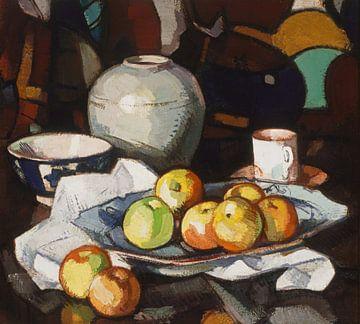 Stillleben mit Äpfeln, Samuel Peploe