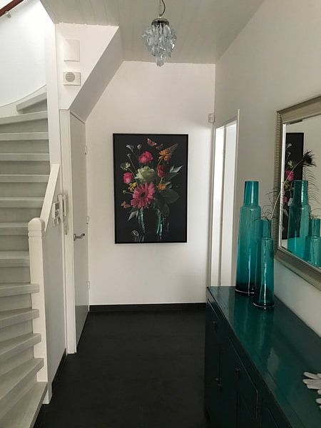 """Klantfoto: """"Royal Deluxe"""" stilleven in een glaze vaas Sander van Laar van Sander Van Laar"""