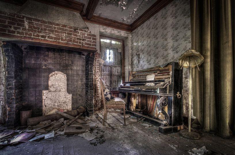 Le Piano sur Pierrette BLEIMLING