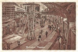 Oude ansichten: Rotterdam Koopgoot van