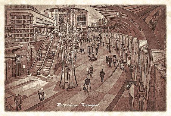 Oude ansichten: Rotterdam Koopgoot
