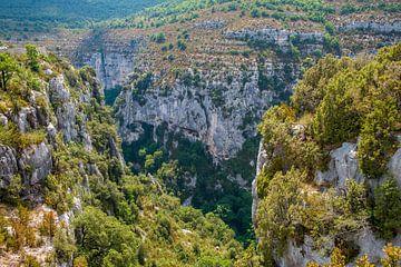 Blik op de Grand Canyon van Frankrijk van Hanneke Luit