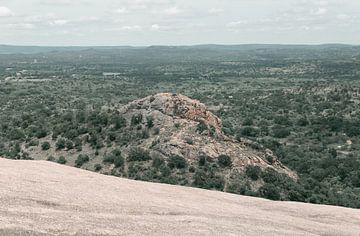 De rots midden in het bos van By SK Photography