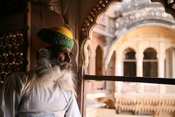 Guardian of Jodhpur van Ron Dijkstra