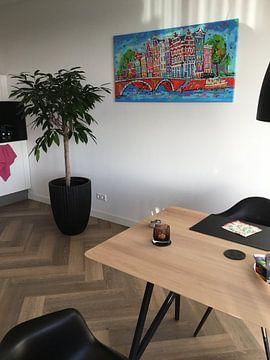 Kundenfoto: Amsterdam von Vrolijk Schilderij