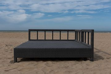 Ontspannen op het strand 02 van Cilia Brandts