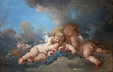 Kleine Engel in einer Komposition von Atelier Liesjes