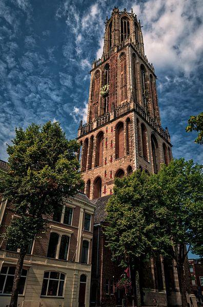 Domtower on a sunny day. von Robin Pics (verliefd op Utrecht)