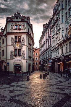 The alleys of Prague von Iman Azizi
