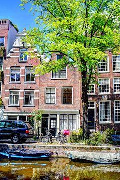 Nummer 1 Egelantiersgracht 54 Huis Gekleurd sur Hendrik-Jan Kornelis