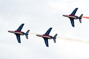 Alpha Jets van Patrouille de France van Wim Stolwerk