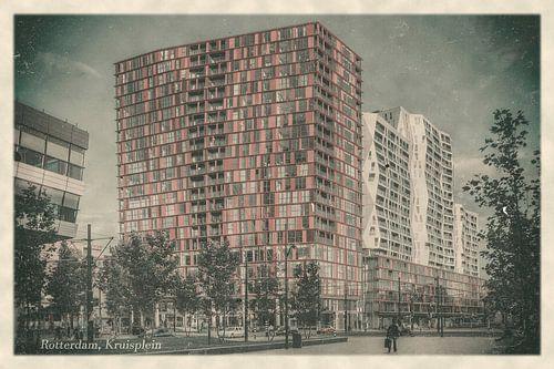 Oude ansichten: Rotterdam Kruisplein