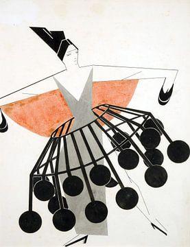 Skizze (Sammlung Lobanov-Rostovsky) 01, Aleksandra Elster, 1924