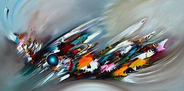 Colorful Time van Gena Theheartofart