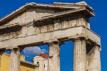 Dorische zuilen in Athene van Koen Henderickx