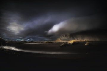 Dramatisch IJsland van Saskia Dingemans