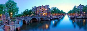 Brouwersgracht Amsterdam vanaf de Papiermolensluis