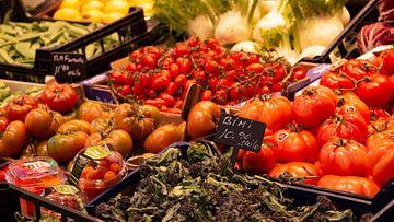 Die Tomaten auf dem Markt; der Beginn einer köstlichen Mahlzeit von Studio de Waay