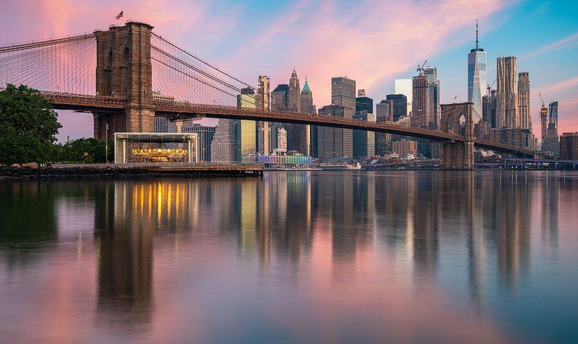 pont de Brooklyn sur Photo Wall Decoration