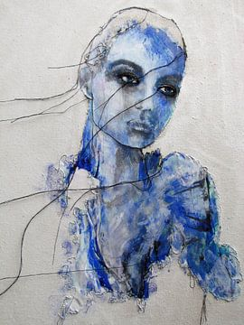 Bleu sur Kim Rijntjes