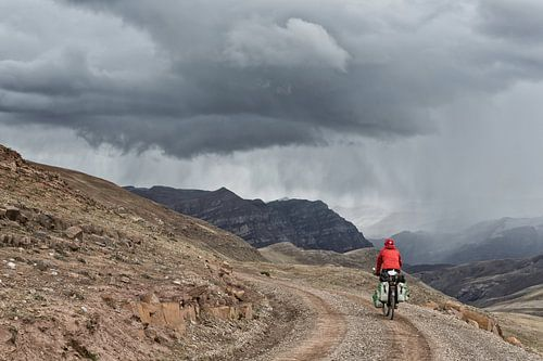Fietsen in Peru von Ellen van Drunen
