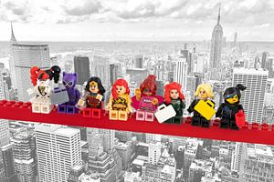 Lunch atop a skyscraper Lego edition - Super Heroes - Women - New York