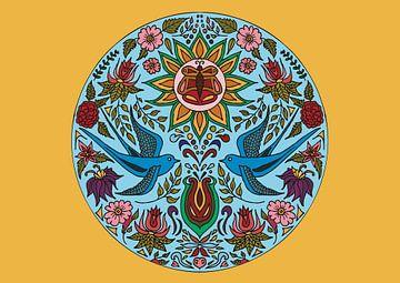 Love Birds van Esther  van den Dool