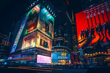 Time Square von Joris Pannemans - Loris Photography