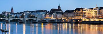 Rheinbücke in Basel in Zwitserland van Markus Lange