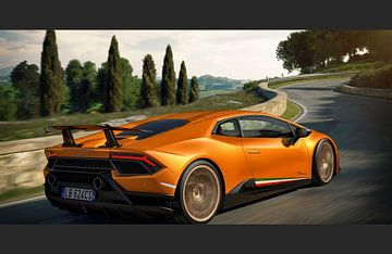 Lamborghini Huracan Performante Motion supercar van Atelier Liesjes