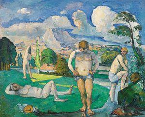 Badende bei der Rast , Paul Cézanne (ca. 1876-1877)