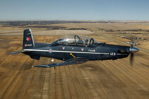 Koninklijke Canadese Luchtmacht CT-156 Harvard II van Dirk Jan de Ridder