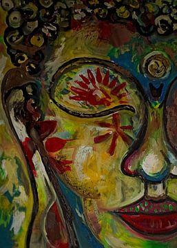Woodstock Buddha 7/2020 von Michael Ladenthin