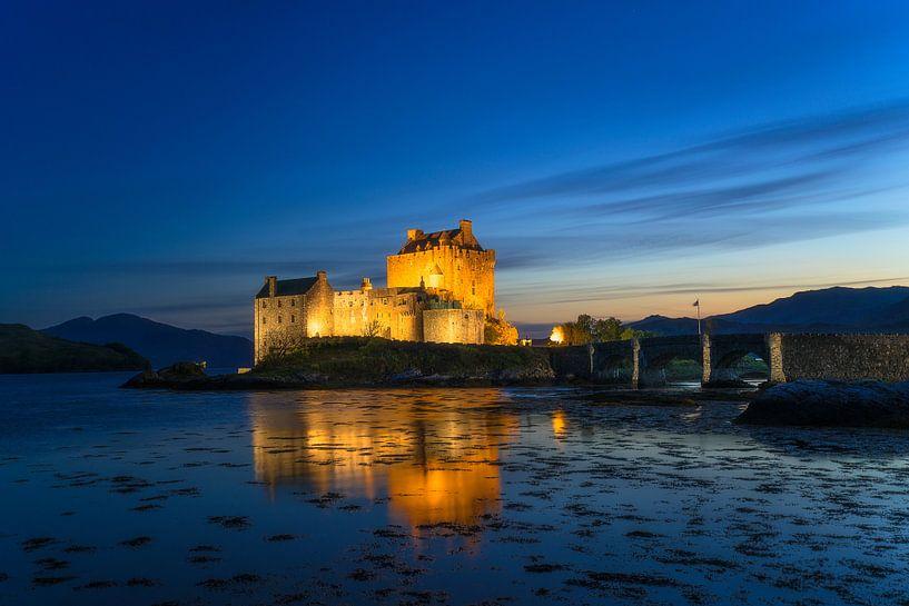 Het beroemde kasteel Eilean Donan van Roelof Nijholt