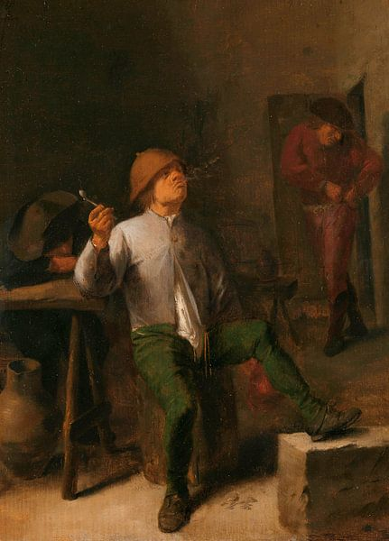 Der Raucher, Adriaen Brouwer von Meesterlijcke Meesters