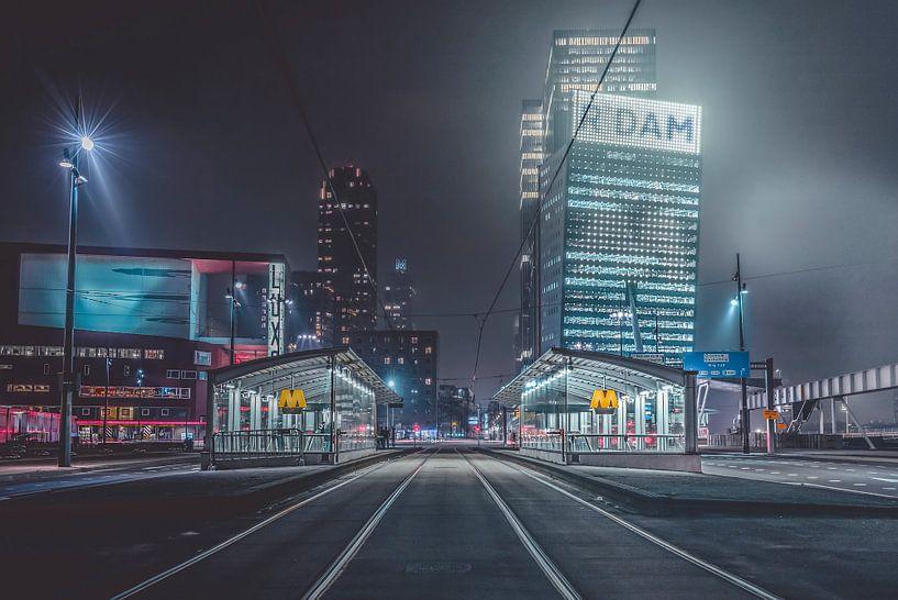 Rotterdam subway van Midi010 Fotografie